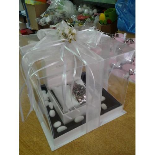 ΚΟΥΤΙ ΚΟΥΜΠΑΡΟΥ ΣΤΟΛΙΣΜΕΝΟ Κουτιά Για Δώρο Κουμπάρου apack.gr