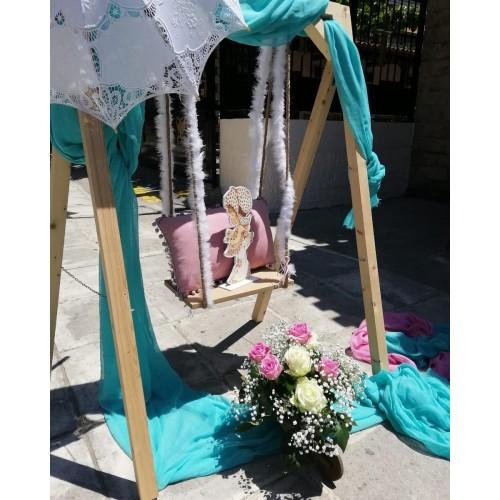 Στολισμος βαπτισης & candy bar Sarah kay  Στολισμοι Βαπτισης  Ειδη Συσκευασιας - apackshop.gr