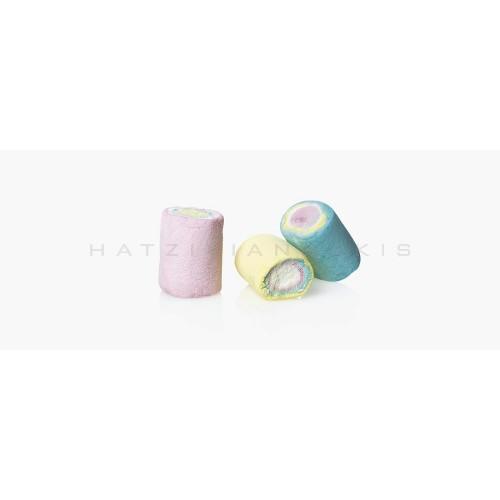 Marshmallow ουρανιο τοξο Κουφέτα Χατζηγιαννάκη