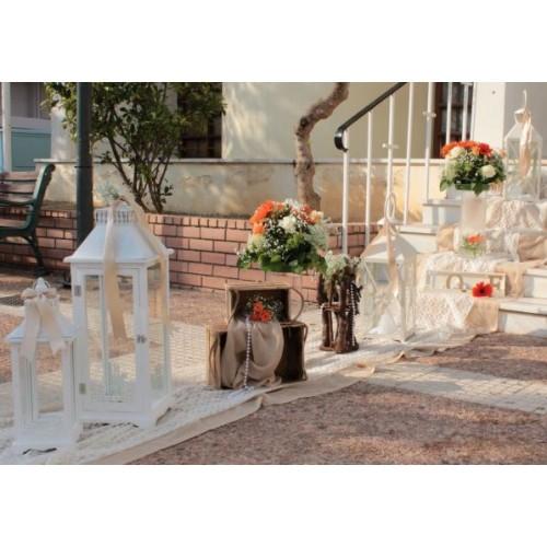 Στολισμοι - Στολισμος γαμου - βαπτισης με ζερμπερα Στολισμός